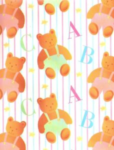 ABC Baby Bears Giant Roll