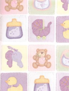 Pastel Baby Quilt Giftwrap