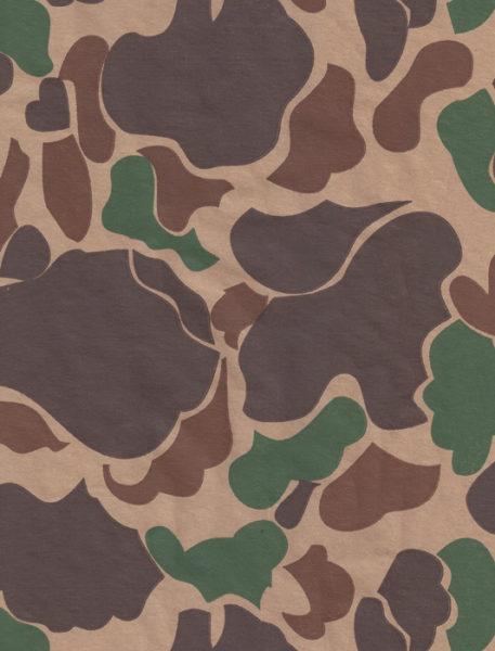 Camouflage Kraft Gift Wrap