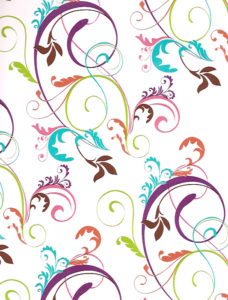 Colorful Swirls Giftwrap