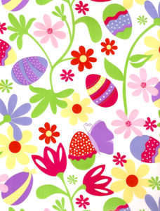 Easter Eggs Floral Giftwrap