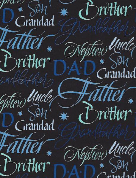 Family Man Giftwrap