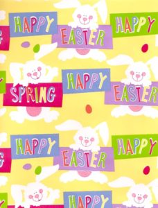 Happy Easter Giftwrap