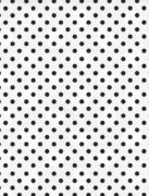 Black and White Dots Giftwrap