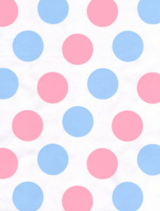 Pink & Blue Dots Giftwrap