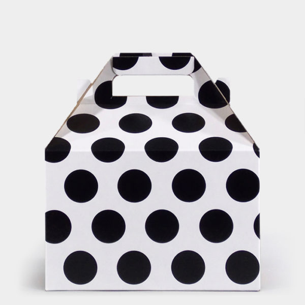 Black Dot Gable Box