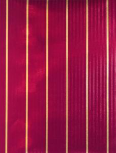 Burgundy & Gold Stripes Embossed Foil
