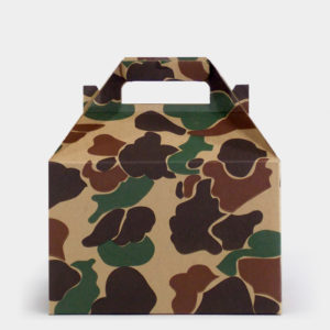 Camouflage Kraft Gable Box