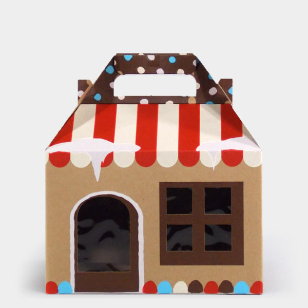 Candyland Kraft Gable Box