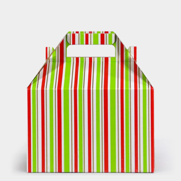 Cheer Stripe Gable Box