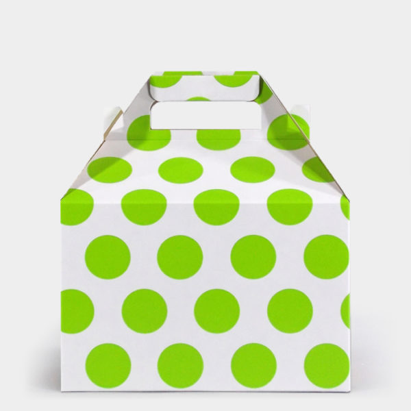 Citrus Dot Gable Box