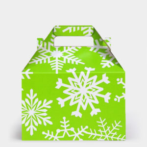 Citrus Festive Flakes Gable Box