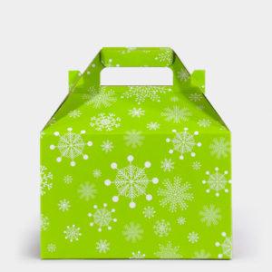 Citrus Snowflake Gable Box