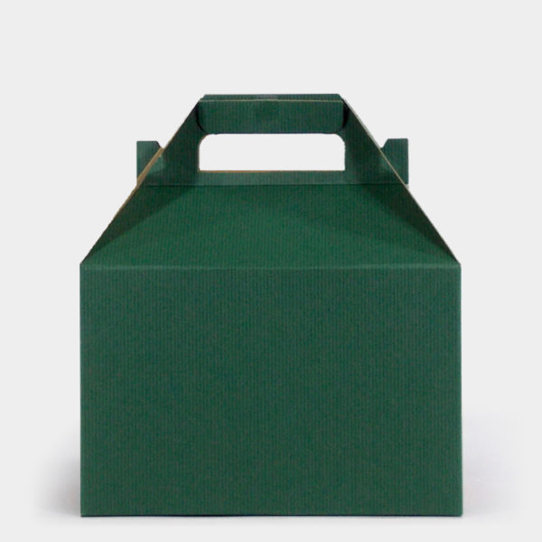 Green Kraft Gable Box