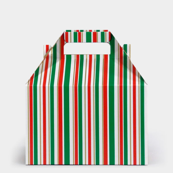 Kelly Cheer Stripe Gable Box