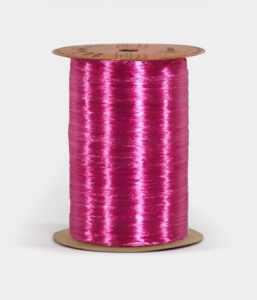 Beauty Pink Pearlized Raffia