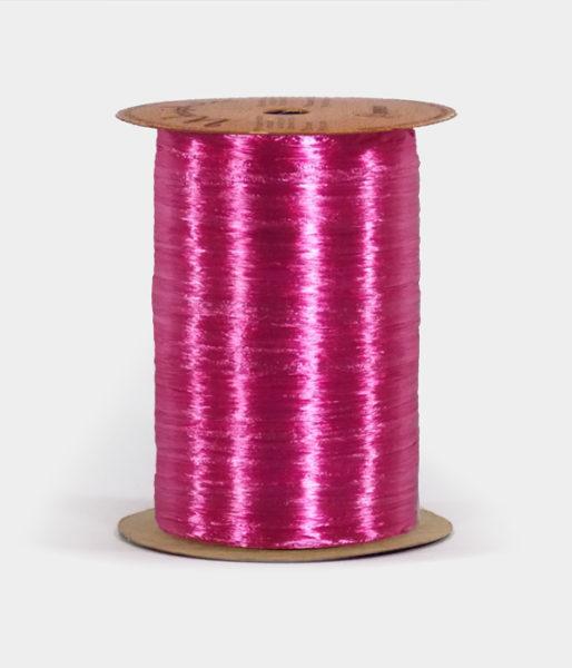 Beauty Pink Pearlized Raffia