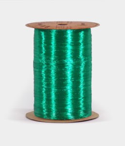 Kelly Green Pearlized Raffia