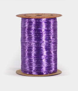 Purple Pearlized Raffia