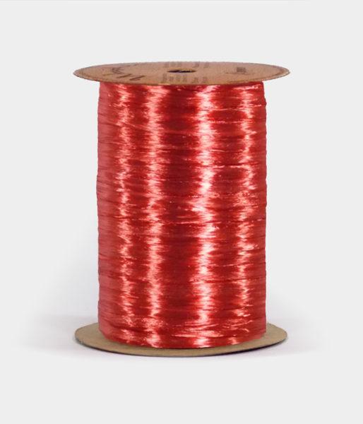 Red Pearlized Raffia