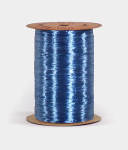 Royal Blue Pearlized Raffia