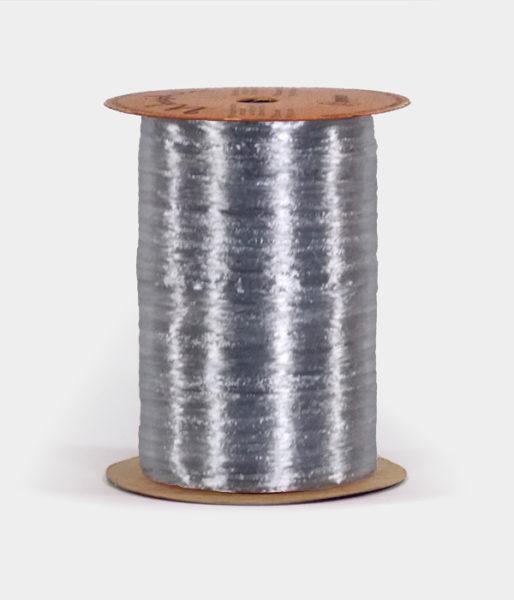 Silver Pearlized Raffia