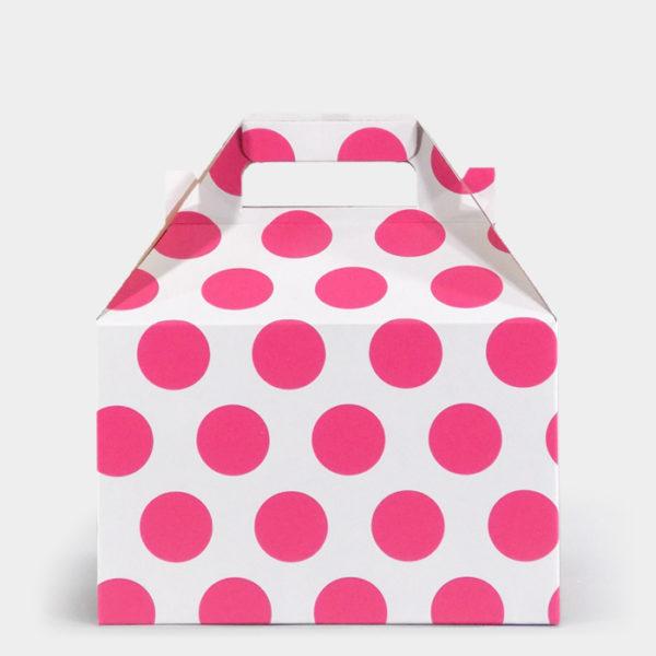 Pink Dot Gable Box