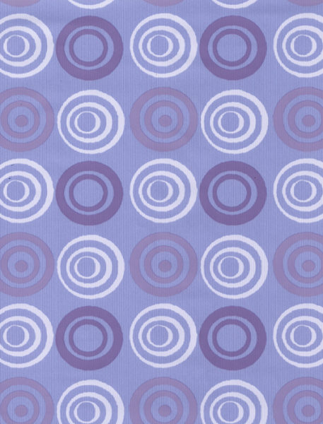 Purple Circles Gift Wrap