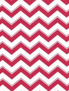 Red Chevron Giant Roll