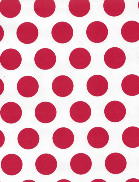 Red Dot Gift Wrap