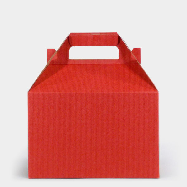 Red Kraft Gable Box