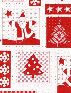 Red & White Santa Giant Roll