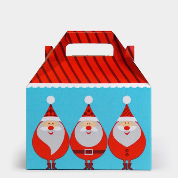 Retro Santa Gable Box
