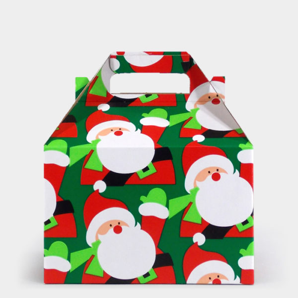 Santa Hello Gable Box