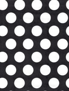 White Dot on Black Gift Wrap