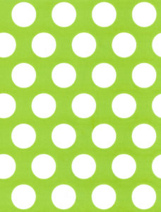 White Dot on Citrus Gift Wrap