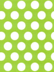 White Dot on Citrus Gift Wrap