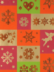 Woodgrain Christmas Icons Pearlescent