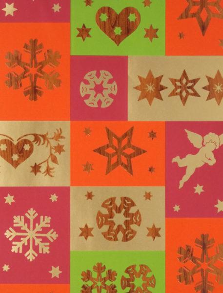 Woodgrain Christmas Icons Pearlescent